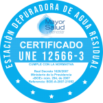 Depuradora séptica MSB iBag CERTIFICADO UNE 12566-3-A2